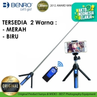 BENRO MK10 Smart Mini Tripod Tongsis (for HP+ Action Cam+Mirrorless)