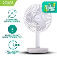 ROBOT RT-BF12 4000mAh 6 Inches Oscillating Desktop Table USB Fan