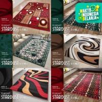 [Carpet Shop ID] Karpet Stardust 100x150 (Modern Designs) - KODE 15, Hijau