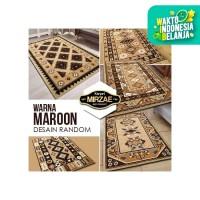 [CSG.ID] Karpet Warna BROWN 160x210 (Pilih Merek, Design Random) - SUPER SHAMA, COKLAT