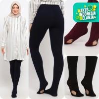 Bawahan Muslim Wanita Le Najwa Latifah Legging Wudhu - navy