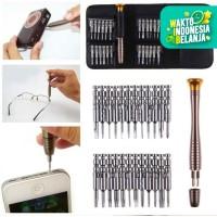 Obeng set hp reparasi handphone iphone laptop gadget Trox screw 25in1