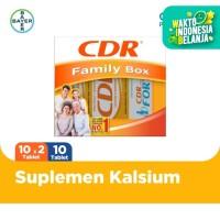 Family Pack CDR Rasa Jeruk 20 Tablet CDR Fortos Rasa Jeruk 10 Tablet