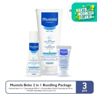 Mustela Bebe 2 in 1 Bundling Package