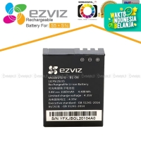 EZVIZ BL-06 Battery/Baterai Original For Action Camera S1c/S5