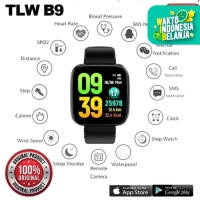 Toleda Smartwatch TLW B9 Original 100% Smartband