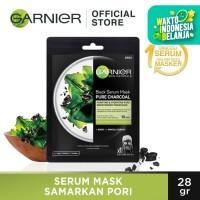 Garnier Serum Mask Pure Charcoal Black Algae