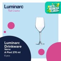 Luminarc Drinkware Mineral - Verre A Pied 270ml - 6pcs