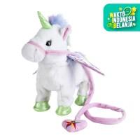 Mainan Anak Boneka UNICORN bisa berjalan dan lengkap dengan music