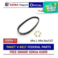 PAKET V-BELT Federal Parts untuk Mio J, Mio Soul GT