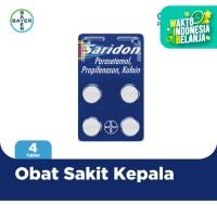 Saridon Obat Sakit Kepala 4 Tablet