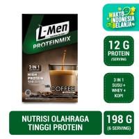L-Men Proteinmix Coffee (6 Sch) - 12gr Protein / Serving