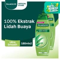 Palmolive Shampoo Healthy & Smooth 180ml - Twinpack