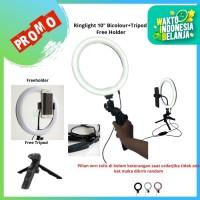 RingLight 26 Pixmix For Live Streaming Vlogger Video LED Lampu Studio