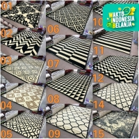 [Carpet Shop ID] Karpet Skyrugs 210x310 (monochrome design) - KODE 13A