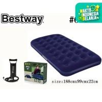 Bestway Kasur Angin Twin + Pompa Tangan / Paket Kasur Angin