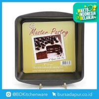 Bursa Dapur Master Pastry Non-Stick loyang Square Cake Pan 8