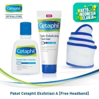 Paket Cetaphil Eksfoliasi A [Free Headband]