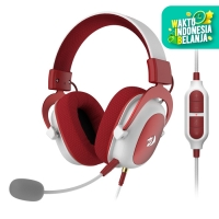 Redragon Gaming Headset 7.1 with Microphone USB AUX ZEUS 2 - H510 - XMAS