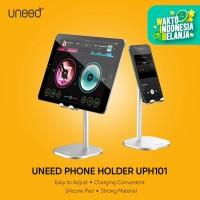 UNEED Phone Holder Stand HP Tablet Meja Adjustable Aluminium Alloy