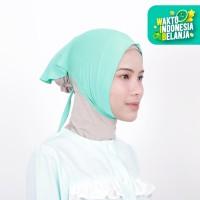 Zoya Inner Kerudung Ciput Hijab - Ciput Face Lift Light Tosca
