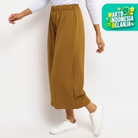 Bawahan Muslim Wanita Le Najwa Elta Kulot Polos Premium