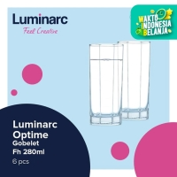 Luminarc Drinkware Octime - Gobelet Fh 280ml - 6pcs - BENING