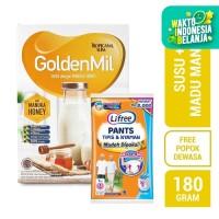 Tropicana Slim Goldenmil Vanilla (6 Sch) FREE Lifree Pants (L)