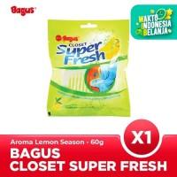 Bagus Closet Super Fresh Lemon Season 60 gr