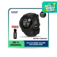GARMIN INSTINCT SPORT GPS GRAPHITE BLACK - TAM 2 TAHUN