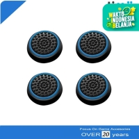 Fosmon Karet Silikon Analog Thumb Grip Stik PS3 PS4 Xbox 360 One Biru
