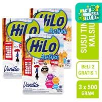 Buy 2 Get 1 FREE HiLo Active Vanilla 500gr