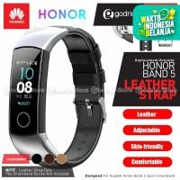 PREMIUM Leather Strap for Huawei Honor Band 5 / 4 Tali Jam Kulit