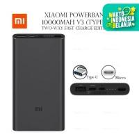 Powerbank Xiaomi Mi Pro 3 10000mAh 18W USB Type C Power Bank 10000 mAh
