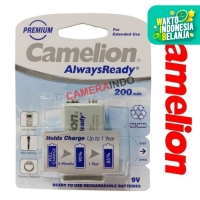 Camelion Battery kotak 9V rechargeable 200mAh