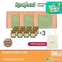 Realfood Ever Glow Triple Bundle Free Shopping Bag