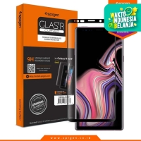Tempered Glass Note 9 Full Spigen Glas tR Curved HD Screen Protector