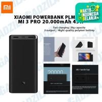 Powerbank Xiaomi Mi 3 Pro 20000mAh 45W | Mi Power Bank PB 20000 mAh