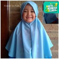 Jilbab Instan Khimar Tali Bergo Maryam Anak Hijab Anak Kekinian