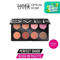 Make Over Perfect Shade Blush On Palette 8 x 3.5g