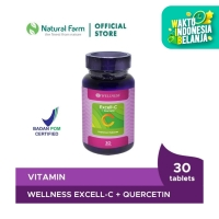 Wellness Excell-C Quercetin 30 Tablets