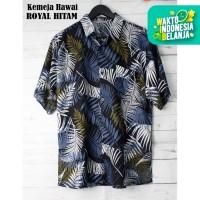 FortKlass HAWAI RAYON Kemeja Hawai Bali Pria Motif Kemeja Pantai Cowok