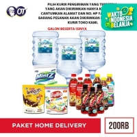 PAKET FREE HOME DELIVERY 200RB