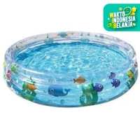 Bestway Dive Paddling Pool 183 x 33 cm Kolam Renang Anak 51005