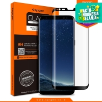 Spigen Glas tR Curved Tempered Glass Galaxy S8 Plus - Black (1Pack)