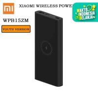 PB Xiaomi Wireless Powerbank Qi 10000mAh Power Bank USB Type C PLM11ZM