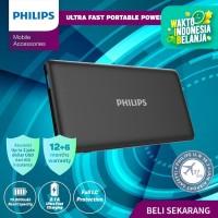 POWERBANK Philips 10.000 MAH DLP-6712 - Hitam