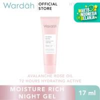 Wardah Hydra Rose Moisture Rich Night Gel 17 ml