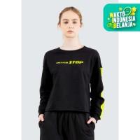 Colorbox Graphic Loose Sweatshirt I:Stkfth120E066 Black