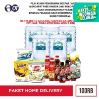 PAKET FREE HOME DELIVERY 100RB